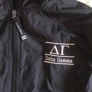 Charles River Jackets & Coats - CLASSIC CHARLES RIVER GREEK PULLOVER: Delta Gamma